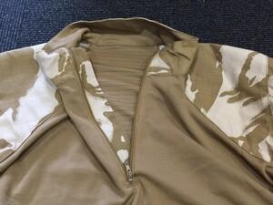 イギリス軍 コンバットシャツ デザートカモ Mサイズ ミリタリー サバゲーの写真3