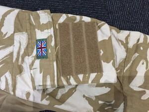 イギリス軍 コンバットシャツ デザートカモ Mサイズ ミリタリー サバゲーの写真5